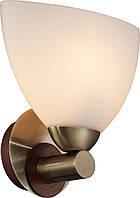 Бра Altalusse INL-9281W-01 Antique Brass + Walnut