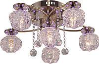 Потолочная люстра Altalusse INL-9315C-06 Antique Brass, фото 1