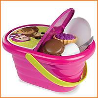Набор посудки в корзине для пикника Маша и Медведь Smoby 310515