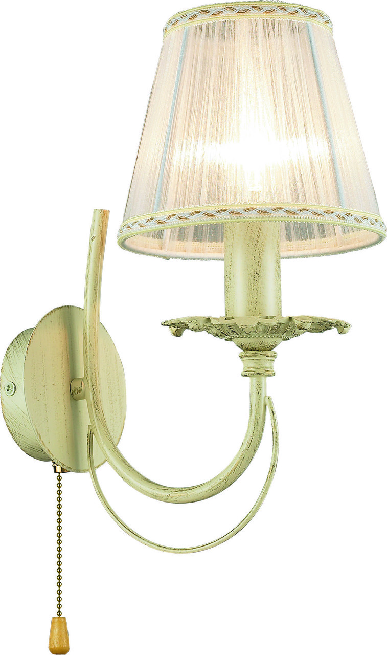 Бра Altalusse INL-6119W-01 Ivory White/White