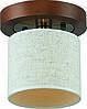 Потолочная люстра Altalusse INL-3094C-01  Antique Brass & Walnut
