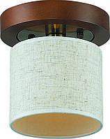 Потолочная люстра Altalusse INL-3094C-01  Antique Brass & Walnut, фото 1