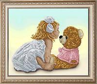 Набор для вышивания нитками Моя подружка Маша 1 10414