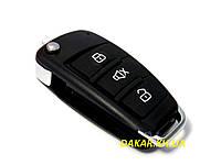 Ключ зажигания автомобиля выкидной Cyclon (без заготовки)  Ключ раскладной автомобильный