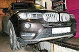 Декоративно-захисна сітка радіатора BMW X3 (F25) фальшрадіаторная решітка (ніздрі), фото 4