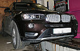 Декоративно-захисна сітка радіатора BMW X3 (F25) фальшрадіаторная решітка (ніздрі), фото 5
