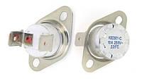 KSD301 220°С 10А — самовосстанавливающийся термовыключатель для вафельницы, нормально-закрытый, 250В, LBVL