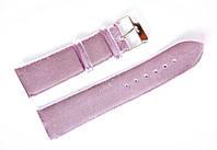 Ремешок (искусственная кожа) Nobrand для наручных часов с классической застежкой, фиолетовый, 22 мм