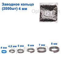 Техническая упаковка Заводное кольцо 4мм (2000шт)