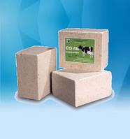 Брикетированная соль кормовая 5 кг (лизунец) по ГСТУ 46.080-2004 без добавок