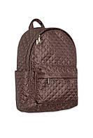 Рюкзак стеганый коричневый. Разные цвета