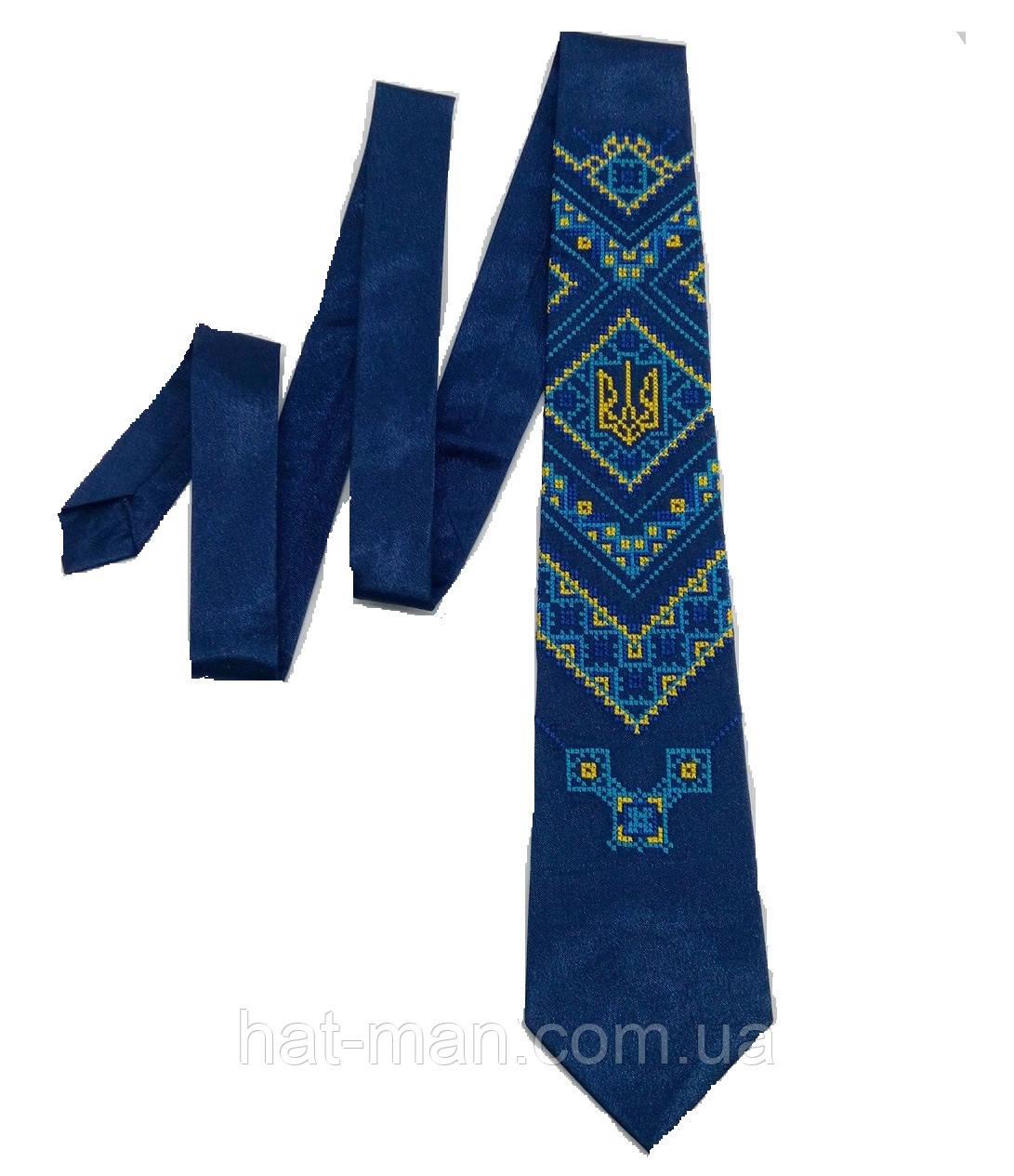 Вишита краватка (з тризубом)