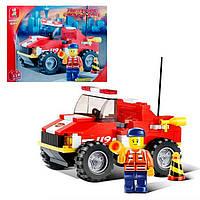 Конструктор SLUBAN Пожарные спасатели M38-B0217