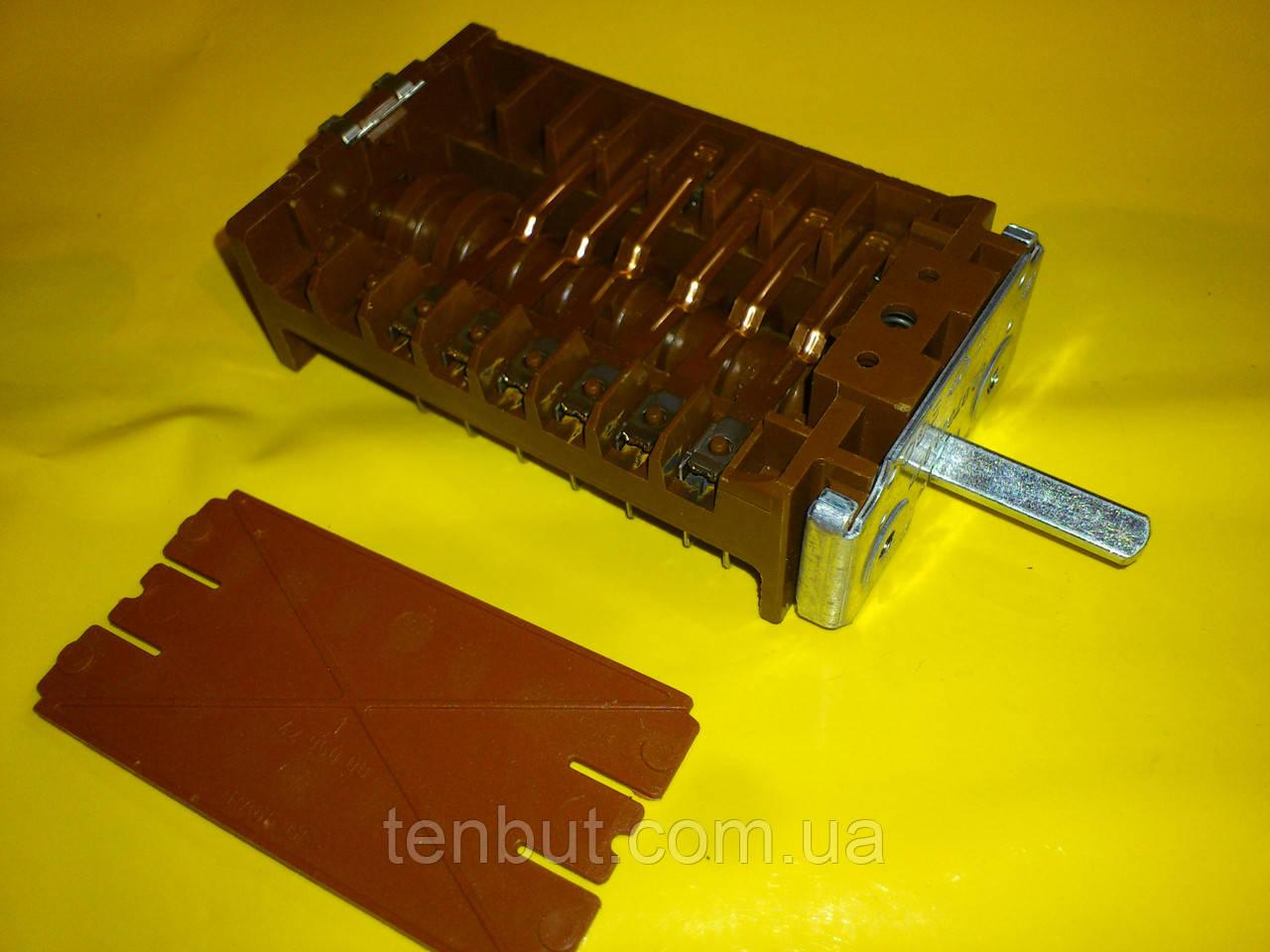 Переключатель ПМ-42.07001.017 EGO / 7-ми позиционный на электроплиты производство Германия