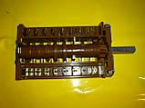 Переключатель ПМ-42.08000.025 EGO / 8-ми позиционный на электроплиты производство Германия, фото 3