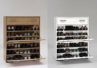 Тумба для обуви под заказ с откидными дверцами