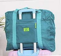 Дорожная сумка для путешествия бирюзовая