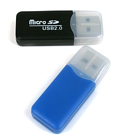 Micro SD кардридер  High Speed ​​USB 2.0 Micro SD T-Flash Card Reader адаптер 32GB TF Card