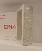 Кирпич BRICK HOUSE полированный заборный с фаской