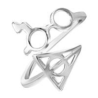 Кольцо серебряное Гарри Поттер и Дары Смерти