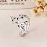 Кольцо серебряное Гарри Поттер и Дары Смерти КЦ-23 Б, фото 4