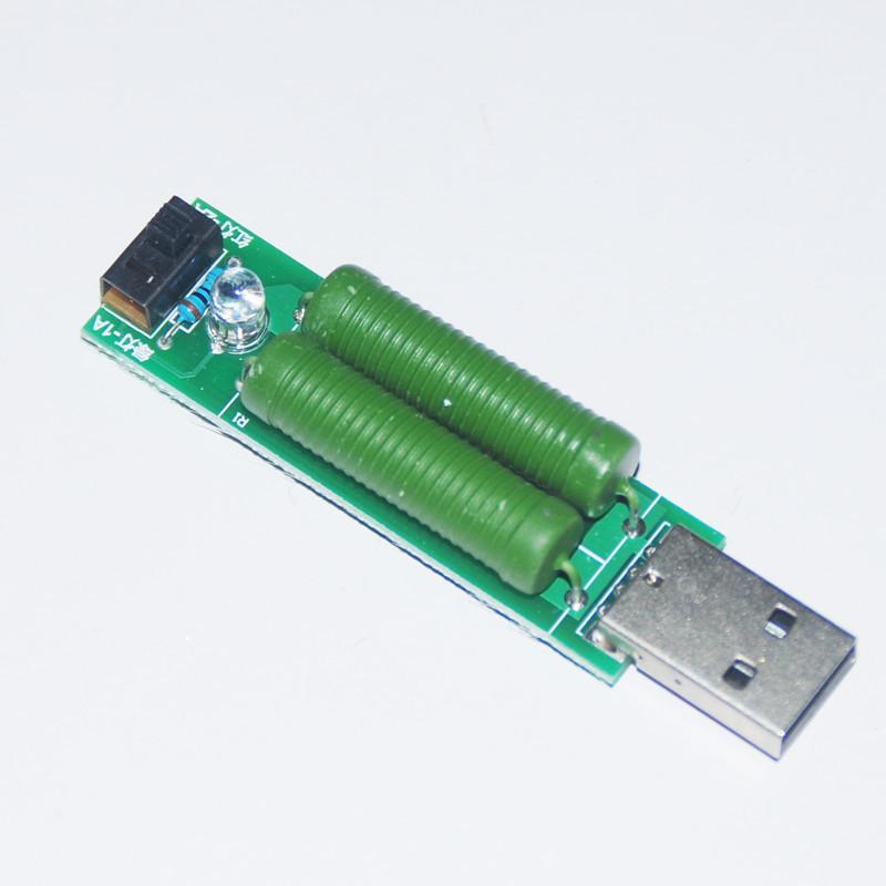нагрузка USB нагрузочный резистор нагрузка для тестера 1A 2A