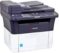 Монохромный МФУ Kyocera FS-1025MFP – копир/ принтер/ сканер формата А4.