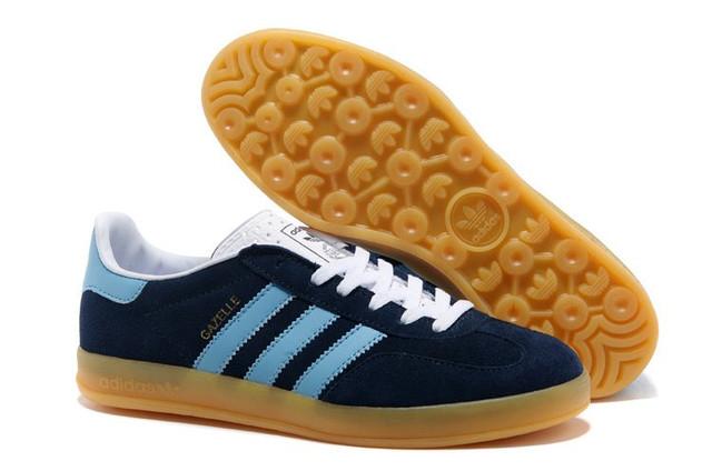 Adidas Gazelle Indoor 2013 Blue Мужские кроссовки повседневные