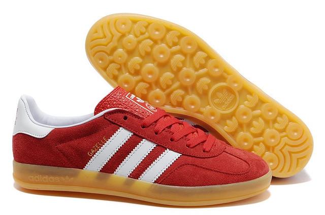 Мужские кроссовки Adidas Gazelle Indoor 2013  Red