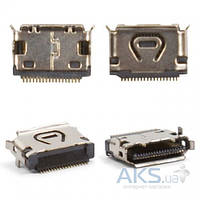 (Коннектор) Aksline Разъем зарядки LG KE820 / KE850 / KG320 / KS50 / KU311 / KU800