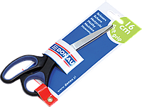 Ножницы офисные Donau с резиновыми вставками 16 см (7922301)