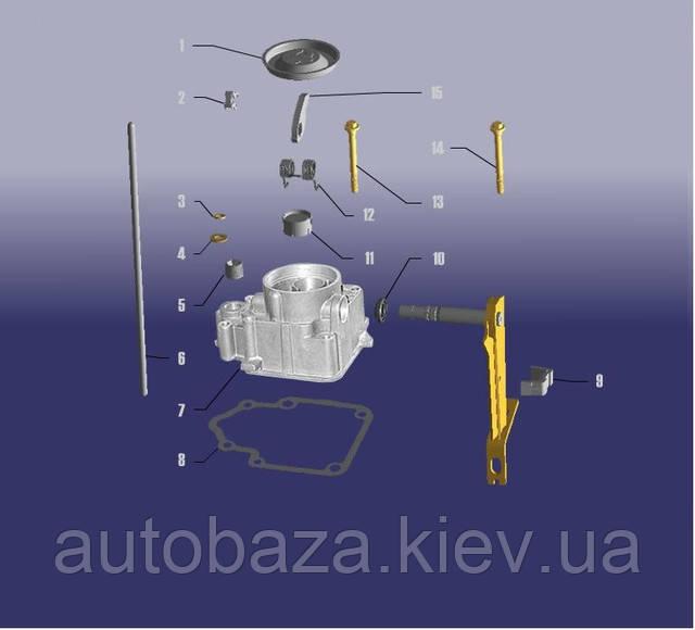 КПП крышка коробка передач чери амулет