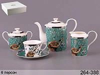 Чайный набор Lefard Журавли 15 предметов 264-388