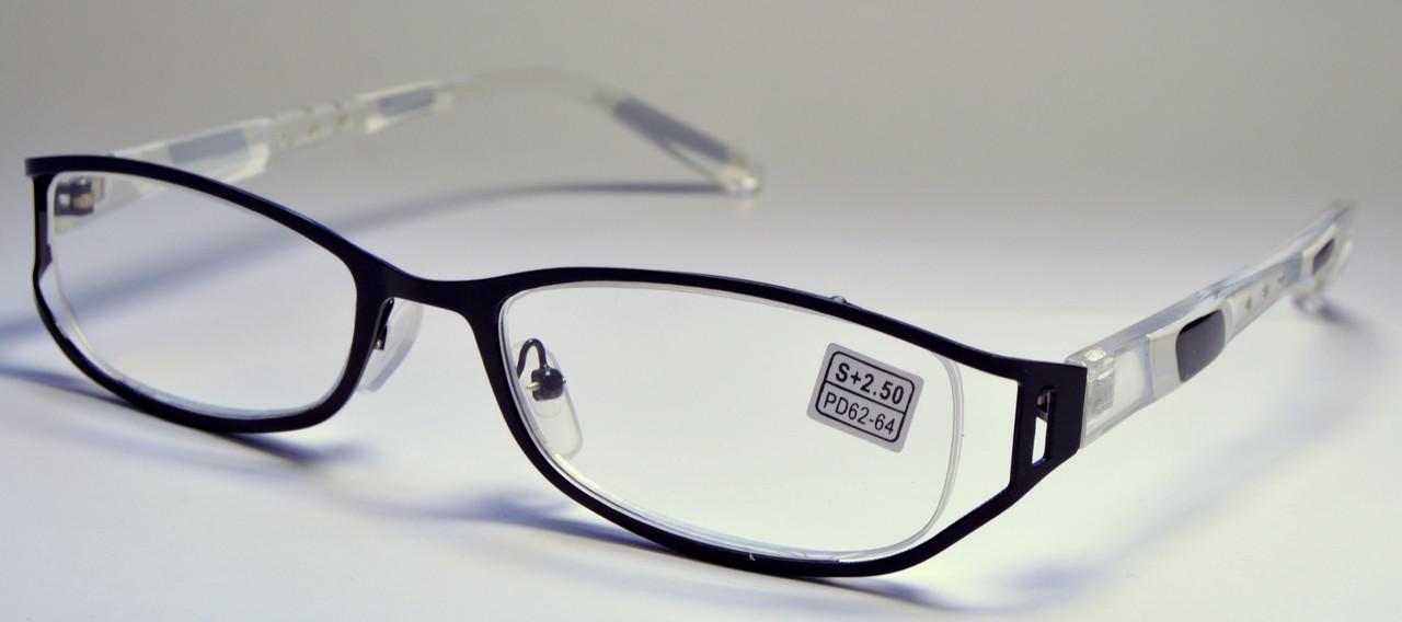 Женские очки в металле (8124)