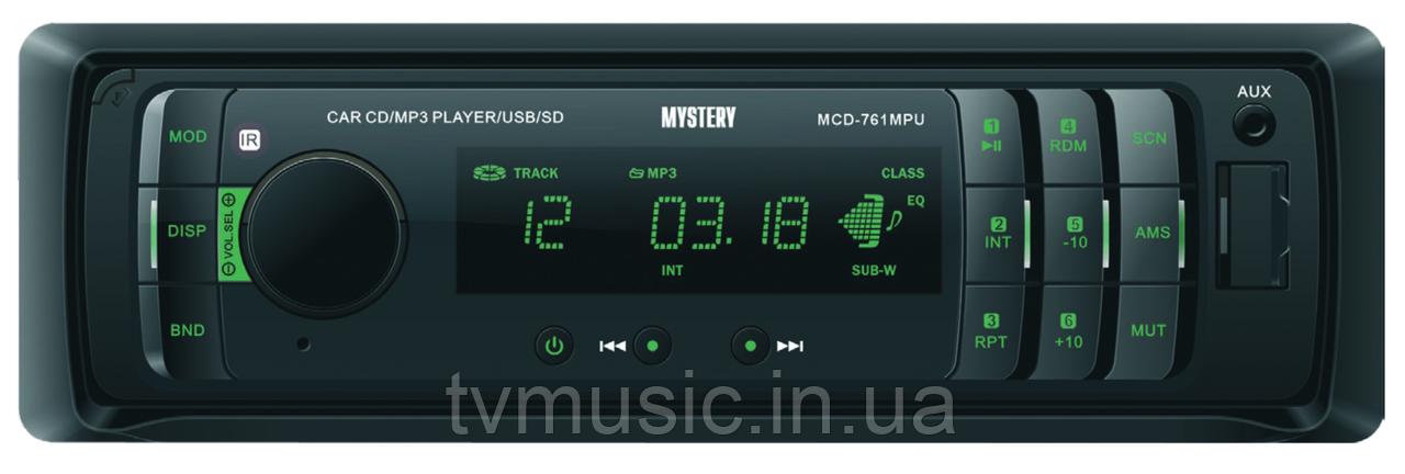 Автомагнитола Mystery MCD-761MPU