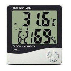 Термометр HTC-1 Метеостанция цифровая+Часы+Будильник