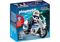Конструктор Playmobil 5185 Мотоцикл полицейского, фото 1