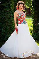 Платье вечернее с маками, фото 1