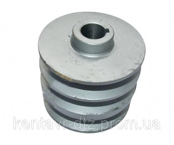 168F 170F - шкив трехручейковый (под коленвал) 20мм