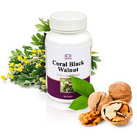 Черный орех  Coral Black Walnut Листья черного ореха     очистка от паразитов