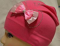 Спортивная детская трикотажная шапочка