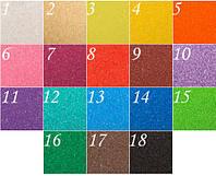 Цветной песок для рисования, 18 цветов по 100 грамм