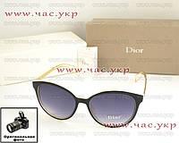 Женские солнцезащитные очки Christian Dior элегантный стиль классика новая модель