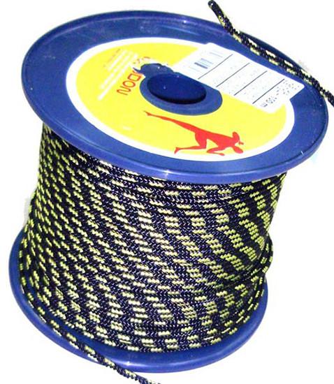 Веревка TENDON 4мм синий-желтый  100 метров - Интернет-магазин Джиг-Джиг в Киеве