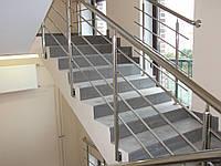 Перила для балкона из нержавейки
