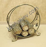 Кованая подставка для дров. Дровница 03 Малая.