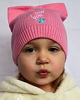 Весенне-осенняя детская шапочка