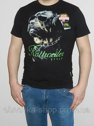 175de187329a Футболка мужская светящийся рисунок Dog размер S Valimark Украина ...