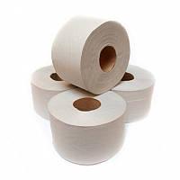 Туалетная бумага Джамбо серая