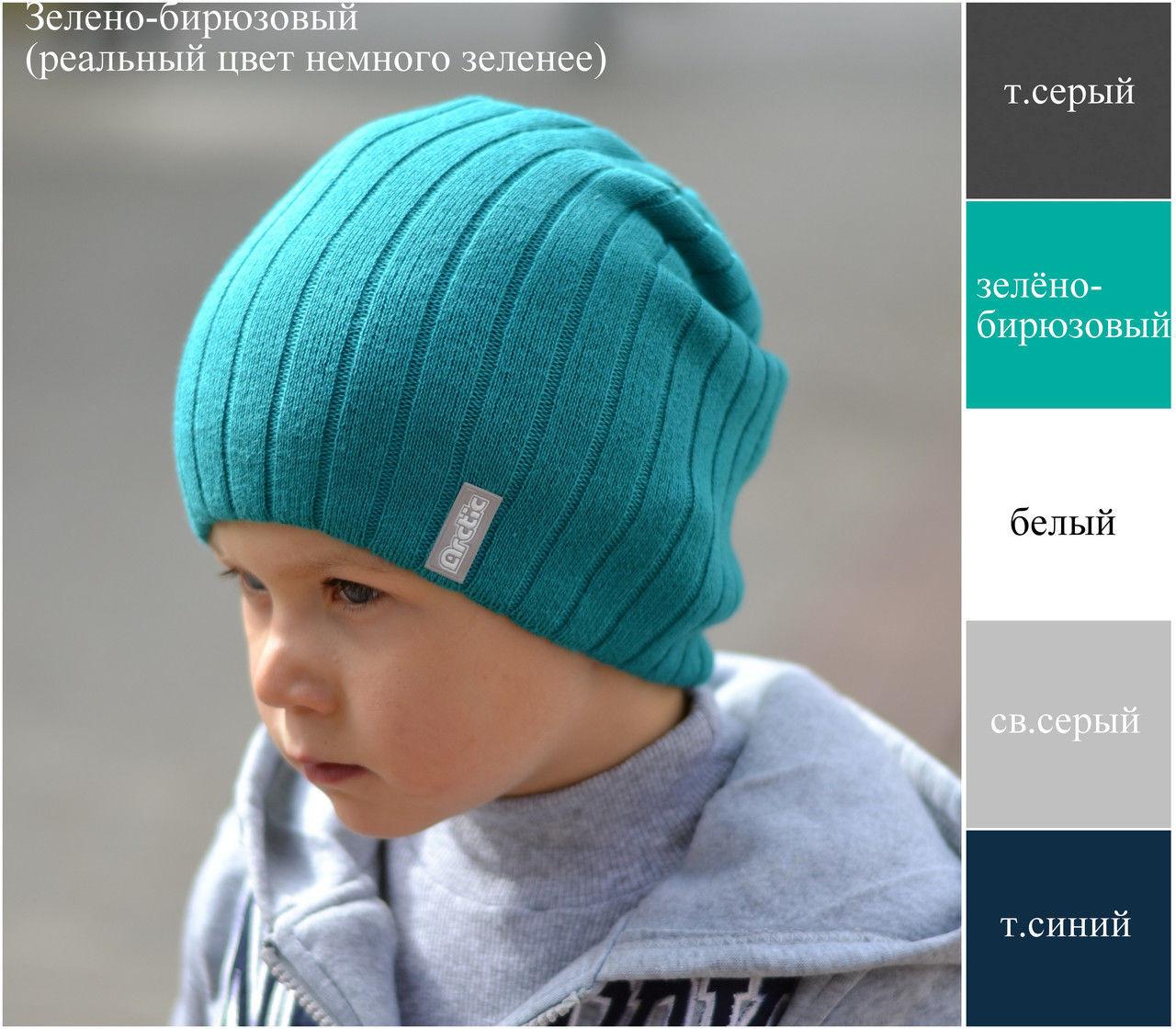 Шапка для мальчика осенне зимняя